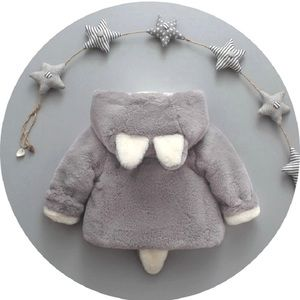 🐻New Ear & Tail Coat 12-18 Months🐻Boy or Girl🐻